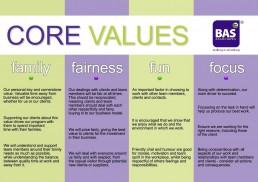 BAS Associates Values